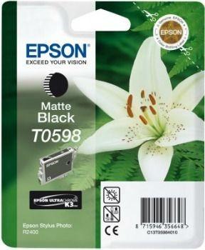 Epson T059840 matte black (wkład atramentowy, Stylus Photo R2400)