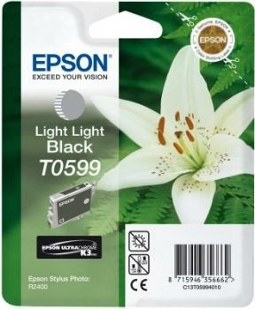 Epson T059940 light black (wkład atramentowy, Stylus Photo R2400)