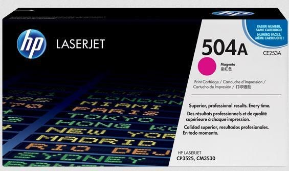 HP toner magenta (contract, 7000str, ColorSphere, Color LaserJet CP3520)
