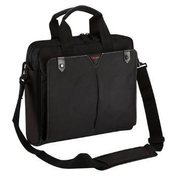 Targus torba do notebooka 15-15.6'' Classic+ Toploading Case (czarno-czerwona)