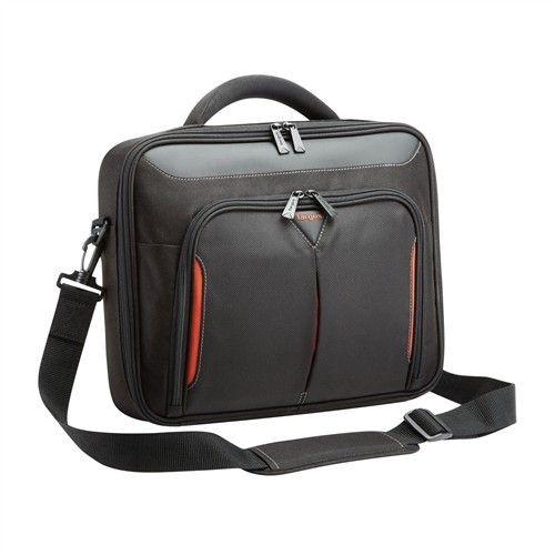 Targus torba do ultrabooka 10-12.1'' Classic+ Clamshell (czarno-czerwona)