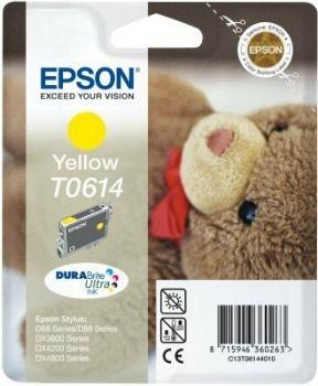 Epson T061440 yellow DURABrite (wkład atramentowy, DX3850/DX4850)