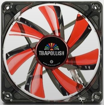 Enermax wentylator T.B.Apollish Red UCTA12N-R 120x120x25mm