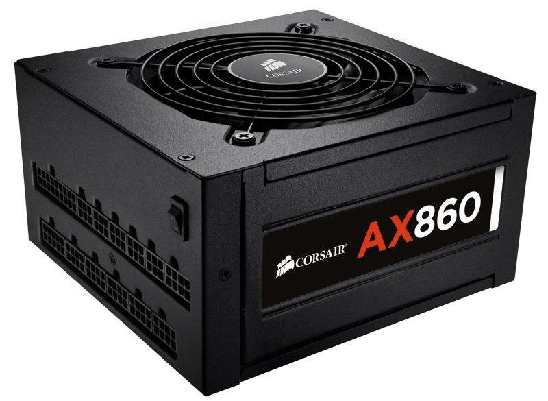 Corsair zasilacz AX860 80PLUS Platinum 860W (fully modular, fan 120mm)