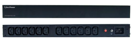 CyberPower Listwa Rack PDU20BHVIEC12R (12szt. gniazd czarny 3m)