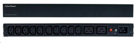 CyberPower PDU20BHVIEC12Ra ;1U ; 16A ; Basic; 10xC13; 2xC19
