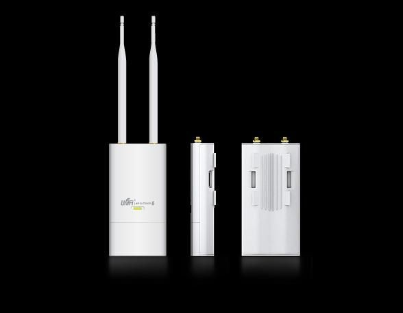 Ubiquiti Networks UniFi Access Point Outdoor 5GHz 802.11a/n 27dBm (2x6dBi)