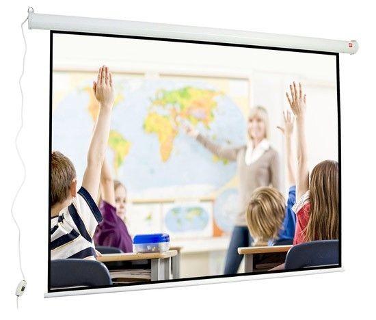 AVTek Avtek ekran projekcyjny WALL ELECTRIC 240 (sufitowy ścienny rozwijany elektrycznie 240x180cm)