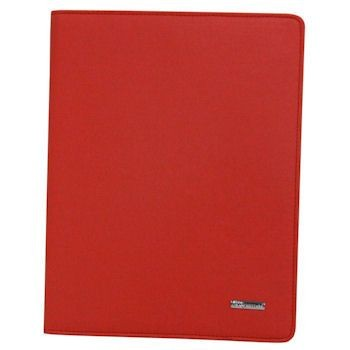 Qoltec etui Premium High Effective Protection do iPad 3 (jeans, czerwone)