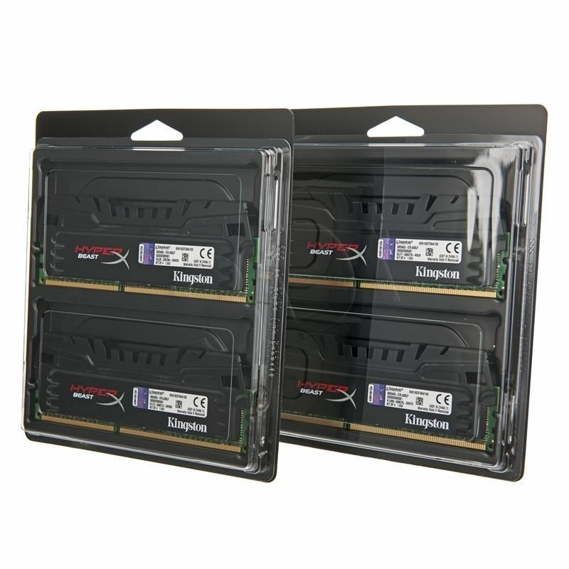 Kingston HyperX DDR3 4x4GB 1600MHz KHX16C9T3K4/16X