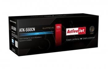 ActiveJet Toner ActiveJet ATK-550CN | Cyan | 6000 pp | KYOCERA TK-550C