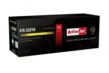 ActiveJet Toner ActiveJet ATK-550YN | Yellow | 6000 pp | KYOCERA TK-550Y