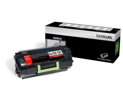Lexmark toner 620XA black (45000str, MX711de / MX711dhe / MX810dfe / MX810dm)
