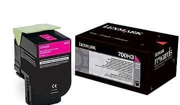 Lexmark Toner 700H3 magenta | 3000 str.| CS310dn / CS310n / CS410dn / CS410dtn
