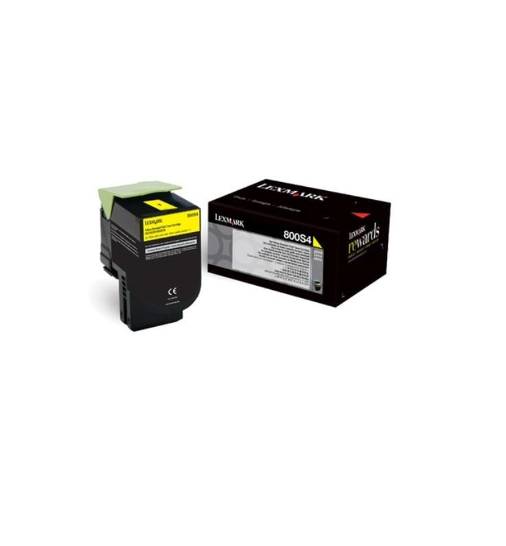 Lexmark toner 800S4 yellow (2000str, CX310dn / CX310n)