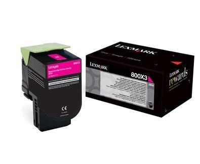 Lexmark toner 800X3 magenta (4000str, CX510de / CX510dhe / CX510dthe)