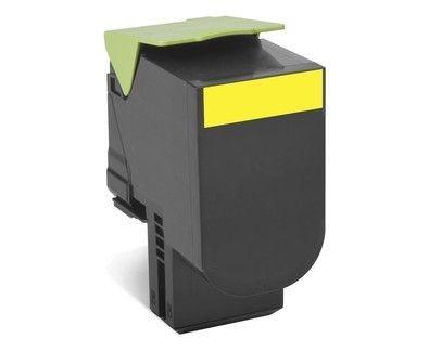 Lexmark Toner 802SY yellow | zwrotny | 2000 str.| CX310dn / CX310n / CX410de