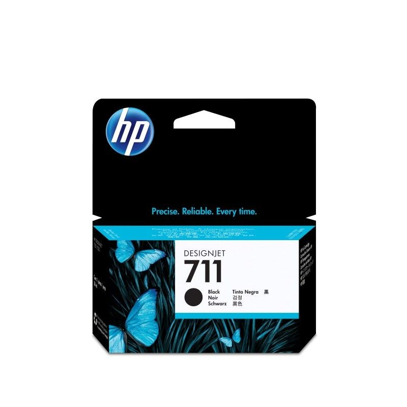 HP Tusz HP 711 black | 38ml