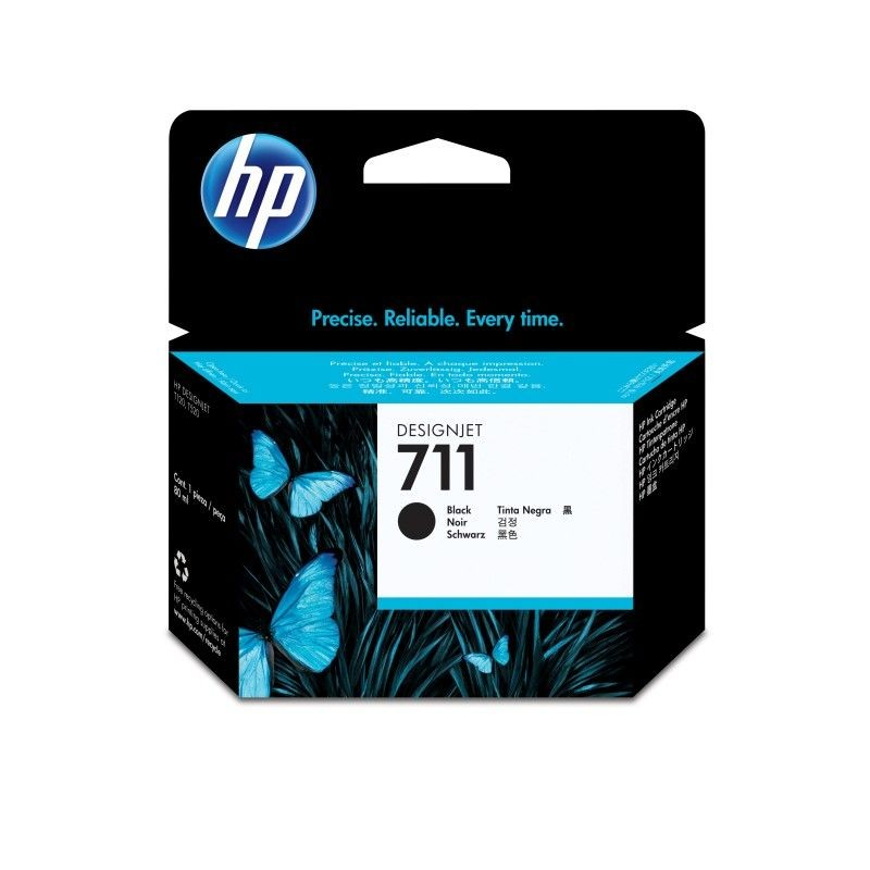 HP Tusz HP 711 black | 80ml