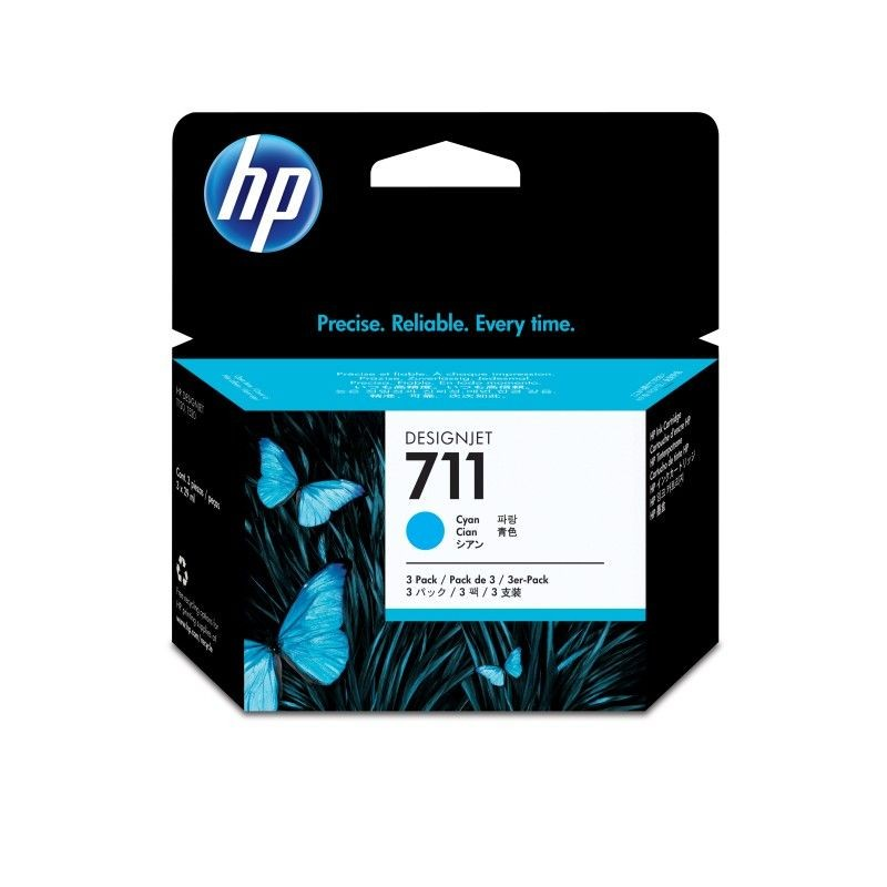 HP tusz 711 cyan (3x29ml)