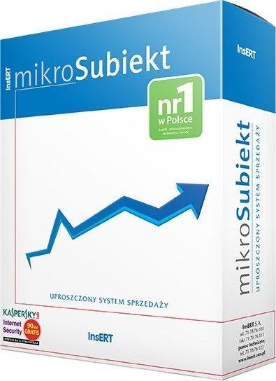 InsERT mikroSubiekt dla Windows (uproszczony system sprzedaży)