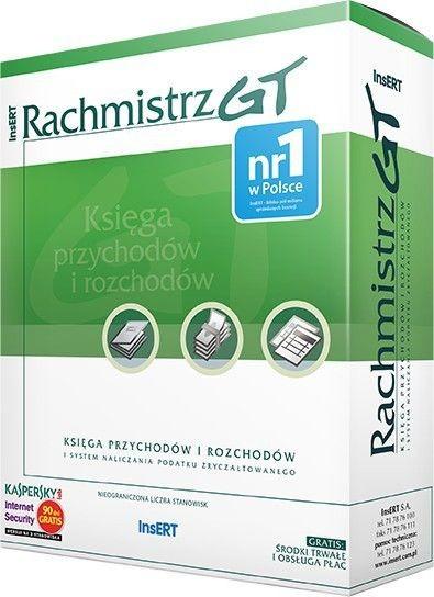 InsERT Rachmistrz GT (kpir i system naliczania podatku zryczałtowanego)