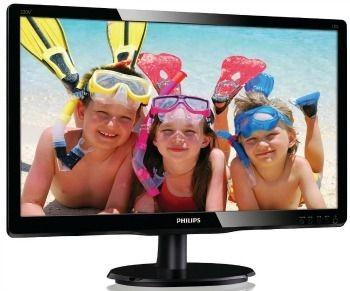 Philips Monitor 220V4LSB/00; 22'', D-Sub/DVI; ES5.0, EPEAT; czarny