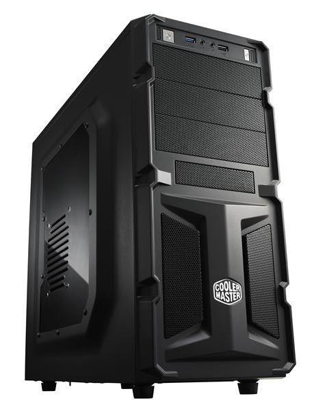 Cooler Master obudowa komputerowa K350, USB 3.0, okno