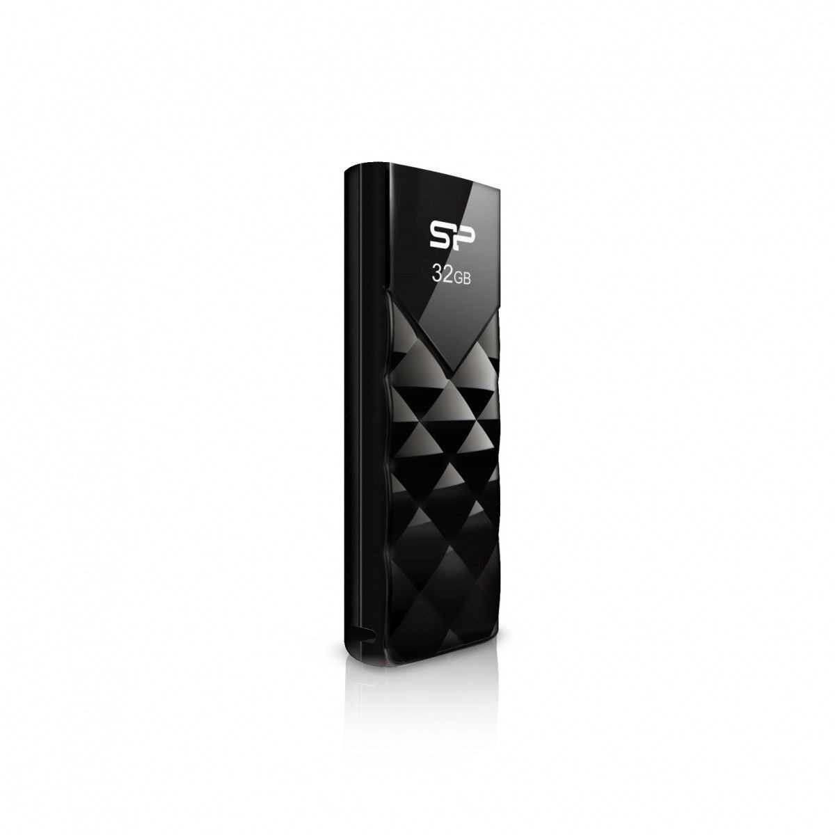 Silicon-Power Pendrive Silicon Power 32GB Ultima U03 Black Diamond Cut