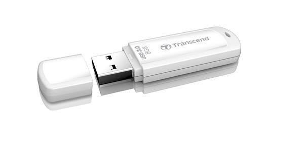 Transcend Pendrive (Pamięć USB) 8 GB USB 3.0 Biały