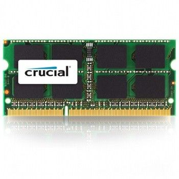 Crucial 4GB 1600MHz DDR3 CL11 SODIMM for Mac 1.35V/1.5V