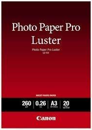 Canon LU101 Luster Paper A3 (20ark)