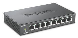 D-Link DES-108/E 8-port 10/100 Metal Housing Desktop Switch