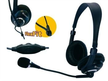 Sandberg słuchawki z mikrofonem Headset One