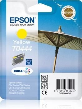 Epson tusz T0444 yellow (Stylus C64/66/66 Photo Edition/84/84N/84WiFi)