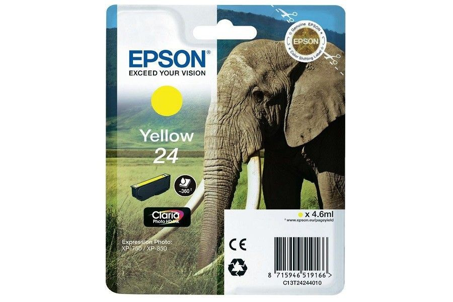 Epson TUSZ T2424 YELLOW XP-750/850