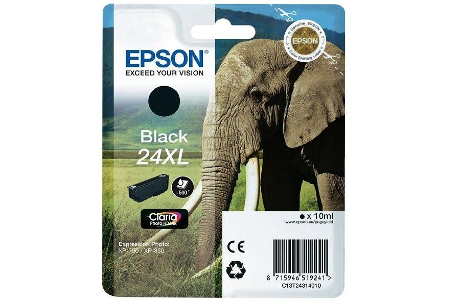 Epson TUSZ T2431 BLACK XL XP-750/850