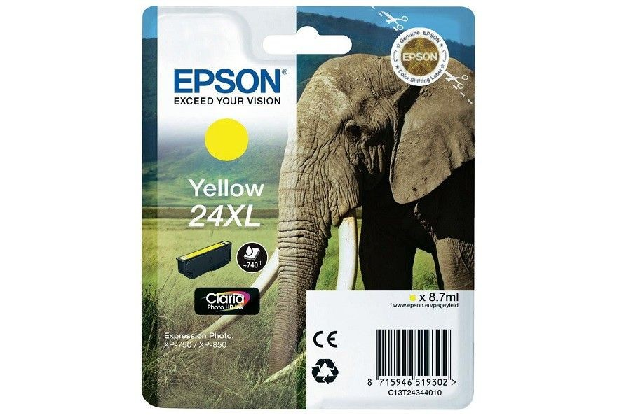 Epson TUSZ T2434 YELLOW XL XP-750/850