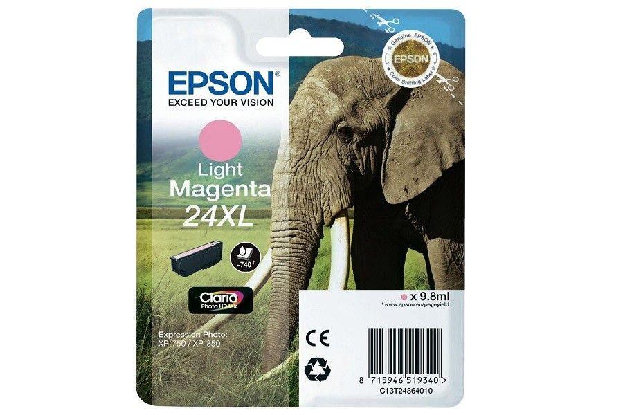 Epson Tusz T2436 Light magenta XL | 9,8 ml | XP-750/850