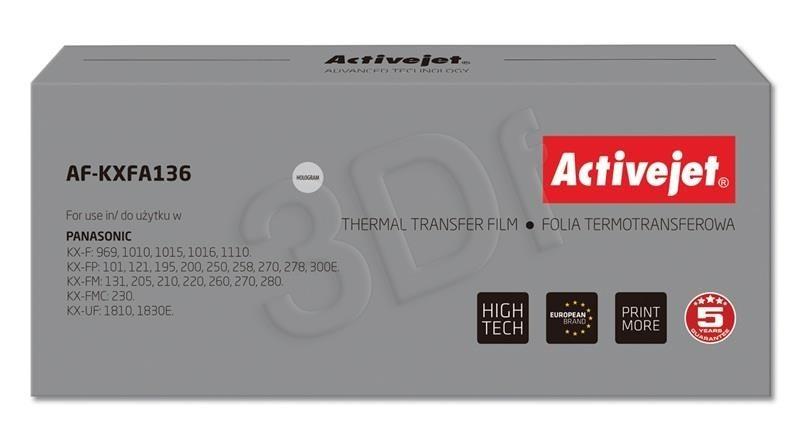 ActiveJet AF-KXFA136 folia do faxów Panasonic (zamiennik Panasonic KX-FA136) Supreme