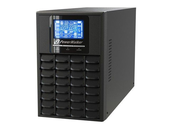 Power Walker UPS On-Line 1000VA (4x IEC, RJ11/RJ45, USB/RS-232, LCD)
