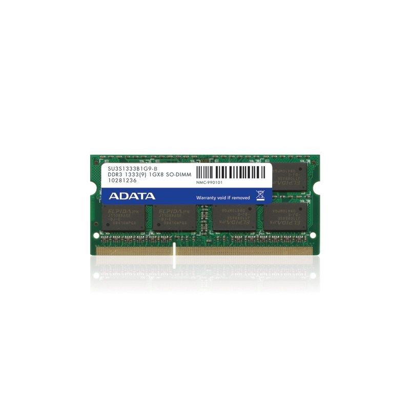 A-Data SODIMM DDR3 Premier 2GB 1333MHz Single Tray