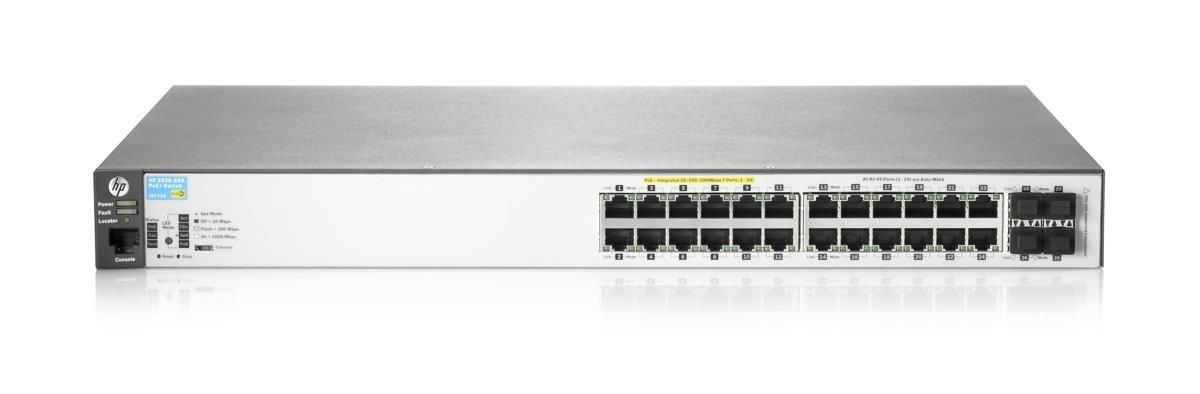 HP Switch zarządzalny Aruba 2530-24G-PoE+ Switch (J9773A)
