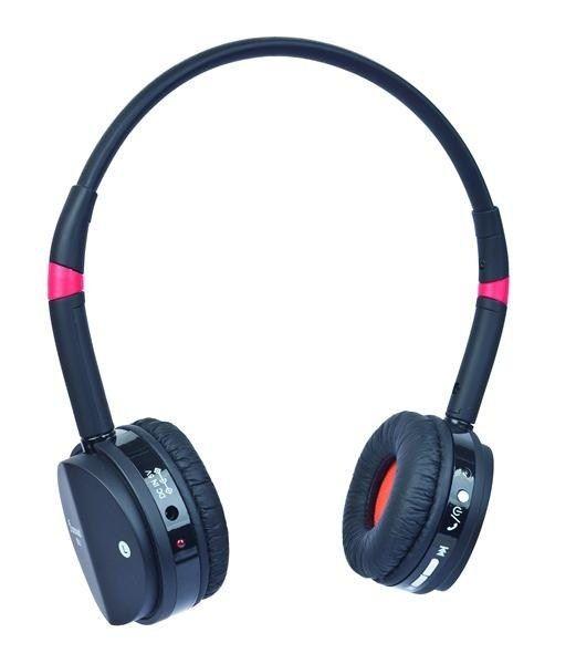 Gembird GEMBIRD sluchátka s mikrofonem BHP-001 Bluetooth, černo-červená
