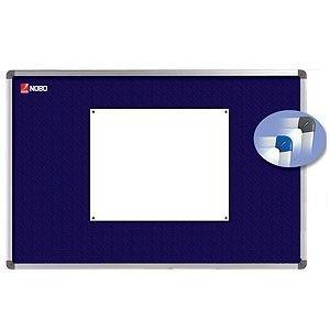 Nobo tablica Elipse 90x60cm (tekstylna, niebieska)