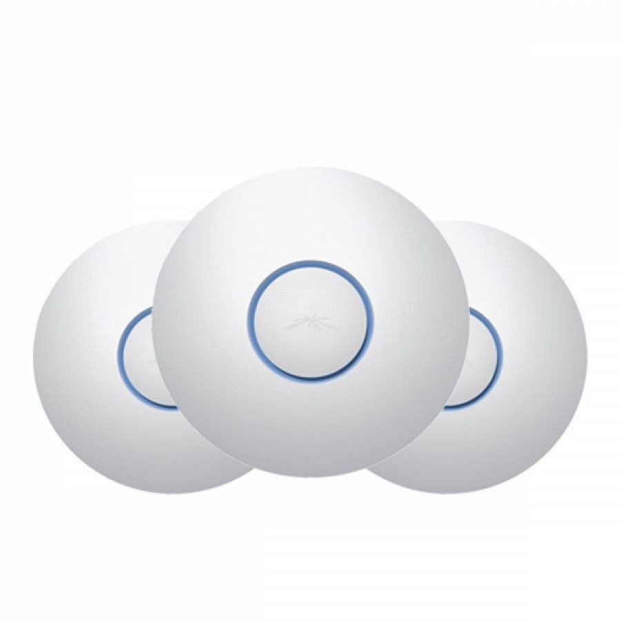 Ubiquiti Networks Ubiquiti UniFi Access Point Pro 2.4GHz/5GHz, Dual-Radio, 802.11an+gn, 3 Pack