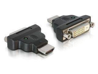 Delock adapter HDMI(M)->DVI-D(F) (24+1) Dual Link
