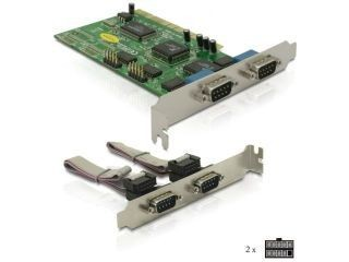DeLOCK Karta PCI Serial Port (COM, RS-232) x4 Porty