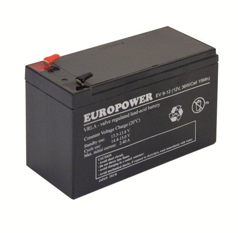 Ever EUROPOWER 12V 9Ah 97-01-0014-00