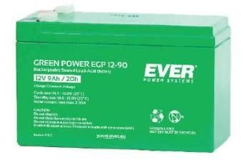 Ever Green power rechargeable battery 12V/9Ah